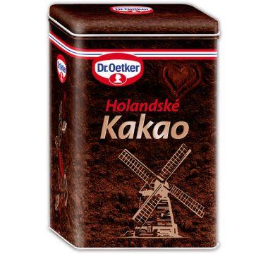 Kakaová dóza Dr. Oetker – Holandské kakao