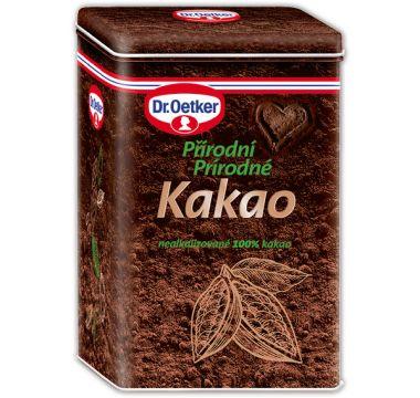 Kakaová dóza Dr. Oetker – Prírodné kakao