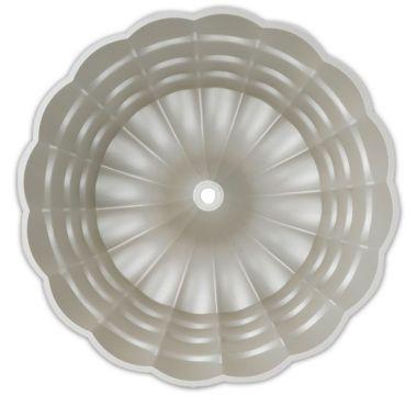 Moderná forma na bábovku v tvare kvetiny Ø 24 cm