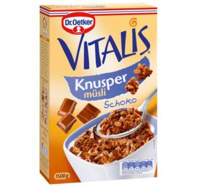 Vitalis chrumkavé müsli čokoládové 1,5 kg