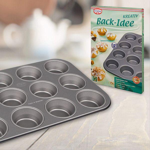 Plech na muffiny 12 ks